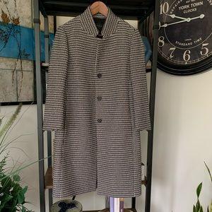 Ann Taylor Plaid Coat